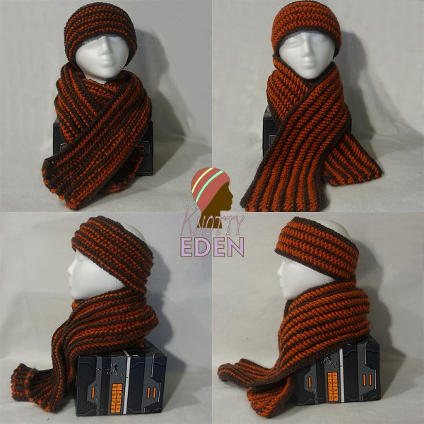 #FO Friday – Dawg Pound Reversible Headband & Scarf